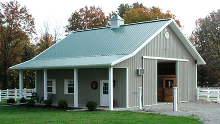 Horse barn gallery for Small horse farm plans